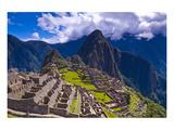 Ancient Machu Pichu Ruins Peru Art