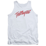 Tank Top: Ted Nugent- Clean Logo Tank Top