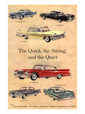 Chrysler - Quick Strong Quiet Posters