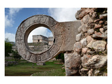 Ball Game Ring Uxmal Yucatan Posters