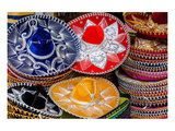 Colorful Mexican Sombreros Prints