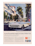 Ford 1958 Thunderbird Magic Poster