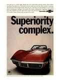 Corvette Superiority Complex Posters