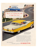 Ford 1956 Victoria V8 Affiches