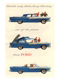 Ford 1957 Hideaway Hardtop Affiches