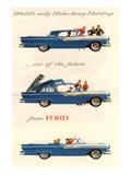 Ford 1957 Hideaway Hardtop Prints