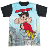 Astro Boy- City Boy (black back) T-shirts
