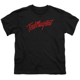 Youth: Ted Nugent- Distress Logo T-shirts