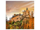 Alcazar Castle Spain Segovia Prints