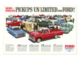 Ford 1963 Pickups Unlimited Posters