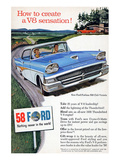 Ford 1958 - a V8 Sensation Prints