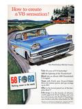 Ford 1958 - a V8 Sensation Posters