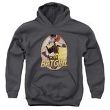 Youth Hoodie: JLA- Batgirl Bombshell Pullover Hoodie
