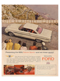 Ford 1963 '63½ Falcon Sprint Poster