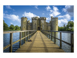 Bodiam Castle East Sussex Uk Art
