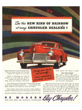 Chrysler Rainbow Ad Posters