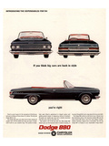 Chrysler Dodge 880 Dependables Posters