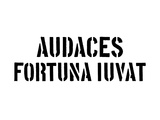 Audaces Fortuna Iuvat Prints by  SM Design