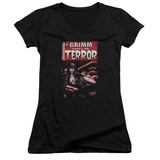 Juniors: Zenoscope- Terror Cover V-Neck Womens V-Necks