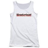 Juniors Tank Top: Zenoscope- Wonderland Logo Womens Tank Tops