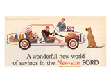 Ford 1960 New World of Savings Art