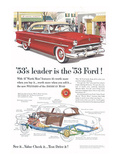 Ford 1953 Leader is the Ford Posters