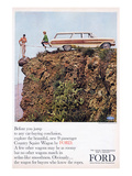 Ford 1964 Country Squire Wagon Poster