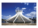 Brasilia Capital Cathedral Posters