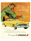 Big New Dependable 52 Dodge Affiches