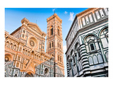 Duomo & Baptistry in Florence Art