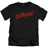 Youth: Ted Nugent- Distress Logo T-Shirt
