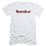 Zenoscope- Wonderland Logo (Slim Fit) T-shirts