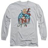 Long Sleeve: JLA- Supergirl Bombshell T-shirts