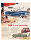 Ford 1952 Newest Car … Affiche