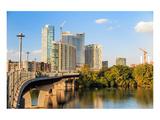 Austin Texas Downtown Skyline Posters