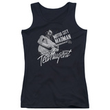 Juniors Tank Top: Ted Nugent- Madman Shirt