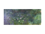 Waterlilies: Morning, 1914-18 (Right Section) Metal Print by Claude Monet