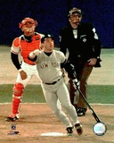Jim Leyritz 1996 World Series Game Four Home Run Photo