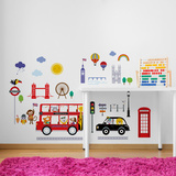 London Buses Wall Decal