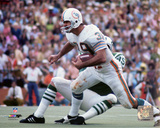 Larry Csonka 1972 Action Photo