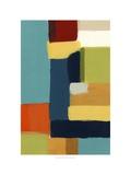 Metro Palette I Alu-Dibond von Erica J. Vess