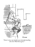 New Yorker Cartoon Premium Giclee Print by John Klossner