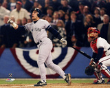 Jim Leyritz 1996 World Series Action Photo
