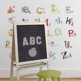 Alphabet Wonderland Kalkomania ścienna