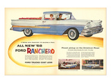 Ford 1958 All New `58 Ranchero Print