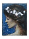 Star of Heaven Metal Print by Edward Robert Hughes