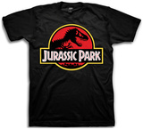 Jurassic Park- Classic Logo Tshirts