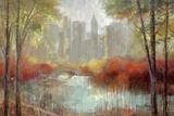 Vista de la ciudad Láminas por Lars Van de Goor