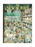 The New Yorker Cover - January 23, 1960 Premium Giclee Print by Anatol Kovarsky