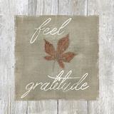 Feel Gratitude Print by Carol Robinson